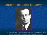 Antoine de Saint-Exupéry né le 29 juin 1900