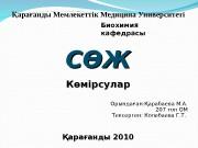 Презентация арабаева М.А 207топ ОМФ. Биохимия СЖ