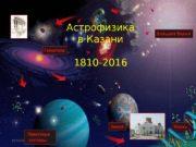 Астрофизика в Казани 1810 -2016 1(11/15/16  Древо