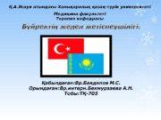 Қ. А. Ясауи атындағы Халықаралық қазақ — түрік