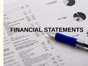 Презентация balance sheet ппп