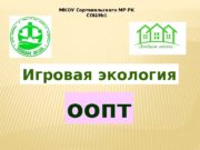 Игровая экология МКОУ Сортавальского МР РК СОШ№ 1