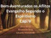 Bem-Aventurados os Aflitos Evangelho Segundo o Espiritismo Cap.