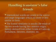 Презентация bilingual theory of translatio
