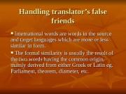 Презентация bilingual theory of translatio