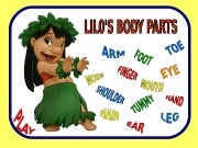 Презентация body parts Lilo