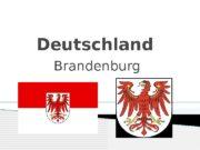 Deutschland Brandenburg   Sprache : Deutsch,