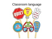 Classroom language  Match words and pictures: a.