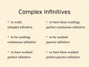 Презентация complex gerund and infinitive-advanced-5c