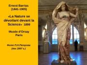 Ernest Barrias (1841 -1905)  « La Nature