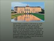 Jardin-Palais complexe a été formé au XVIII —