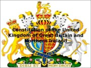Constitution of the United Kingdom of Great Britain