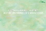СТРАТЕГИЯ И ТАКТИКА КОРПОРАТИВНЫХ ФИНАНСОВ  2 Программа