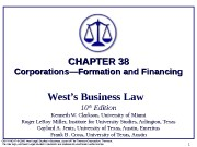 COPYRIGHT © 2006 West Legal Studies in Business,