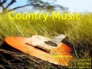 Country Music Yutlandova Valeria