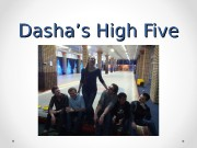 Dasha's High Five   • Passion