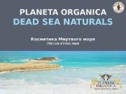 Презентация dead sea naturals