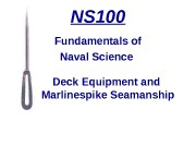 Презентация deck-equipment-and-marlinspike-seamanship3375