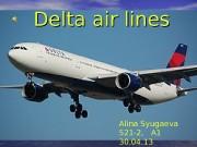 Delta air lines Alina Syugaeva 521 -2,