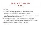 Презентация день абитуриента