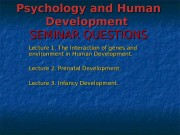 Psychology   and Human Development