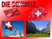Allgemeine Informationen über die Schweiz Fläche von 41'