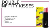 DOUBLE INFITITY KISSES   innovative double color