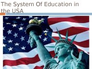 Презентация education in usa