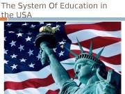 Презентация education in usa