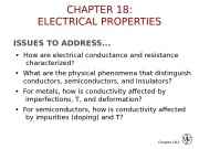 Презентация electrical properties