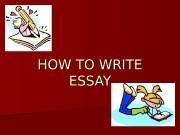 Презентация english essay