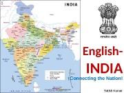 English-  INDIA Connecting the Nation! Satish Kumar