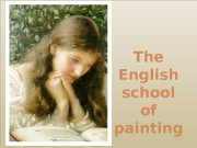 The English school of painting  the term