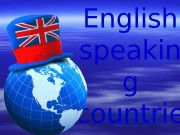 Презентация english speaking countries