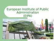 European Institute of Public Administration (EIPA)