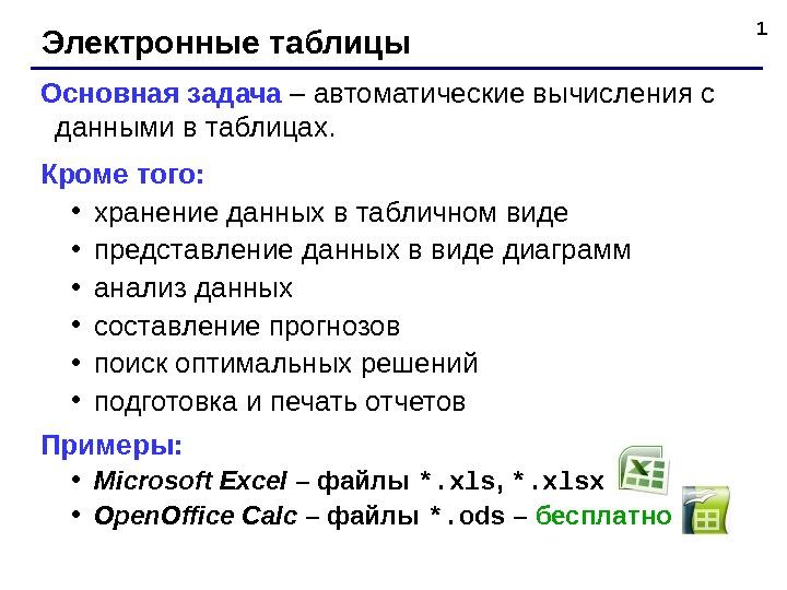 Задачи с решениями в электронной таблице экономика задачи с решениями таблицы
