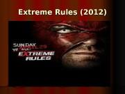 Extreme Rules (2012)  Джон Сина  против