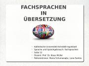 Katholische Universität Eichstätt-Ingolstadt  Sprache und Sprachgebrauch:
