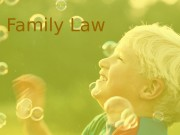 Family Law  Outline  • Introduction