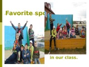 Favorite sports in our class.  Favorite sports