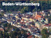 Baden-Württemberg Fl che: 35 752 km ȁ Einwohner: