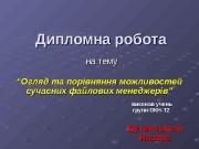 Презентация file manag Butynskiy N
