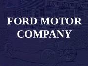 FORD MOTOR COMPANY  Генри Форд  •
