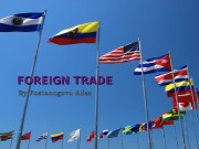 FOREIGN TRADE  Plan  Rank Country Total
