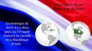 Francophonie en Amérique du Nord En Amérique du