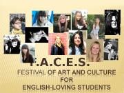 Презентация журнала FACES — print 2010