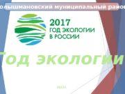 Год экологии 2017 г. Голышмановский муниципальный район