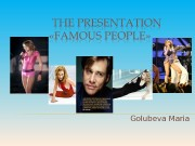 Golubeva Maria  MADONNA  about life and