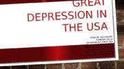 GREAT DEPRESSION IN THE USA DONE BY ALEXANDRA