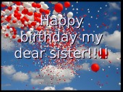 Happy birthday my dear sister!!!!  Нехай доля